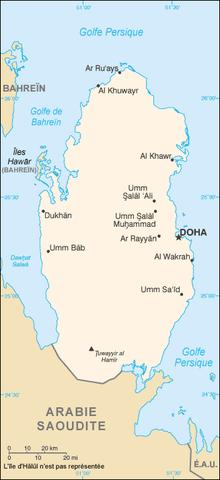 carte qatar
