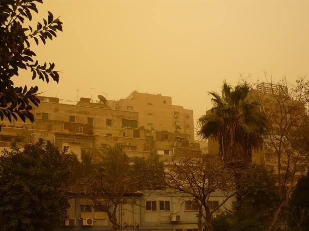 khamsin Le Caire