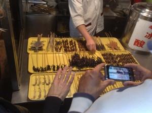 Manger des insectes en Chine
