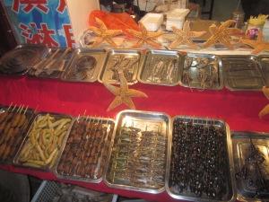 Différentes nourritures Chine