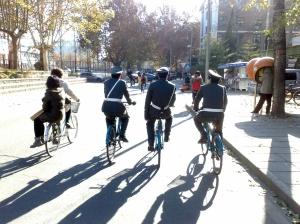 Vélos dans l'université Tsinghua