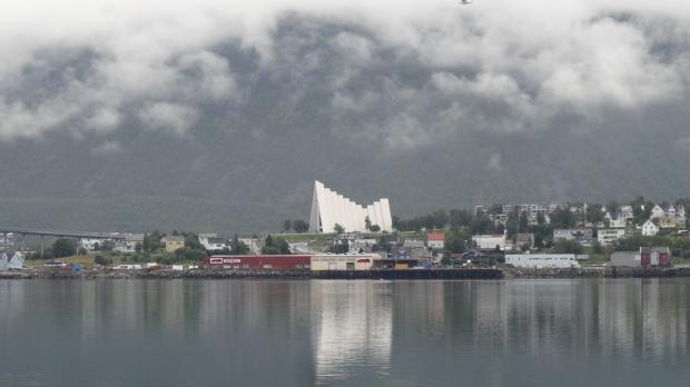 Tromso cathédrale arctique