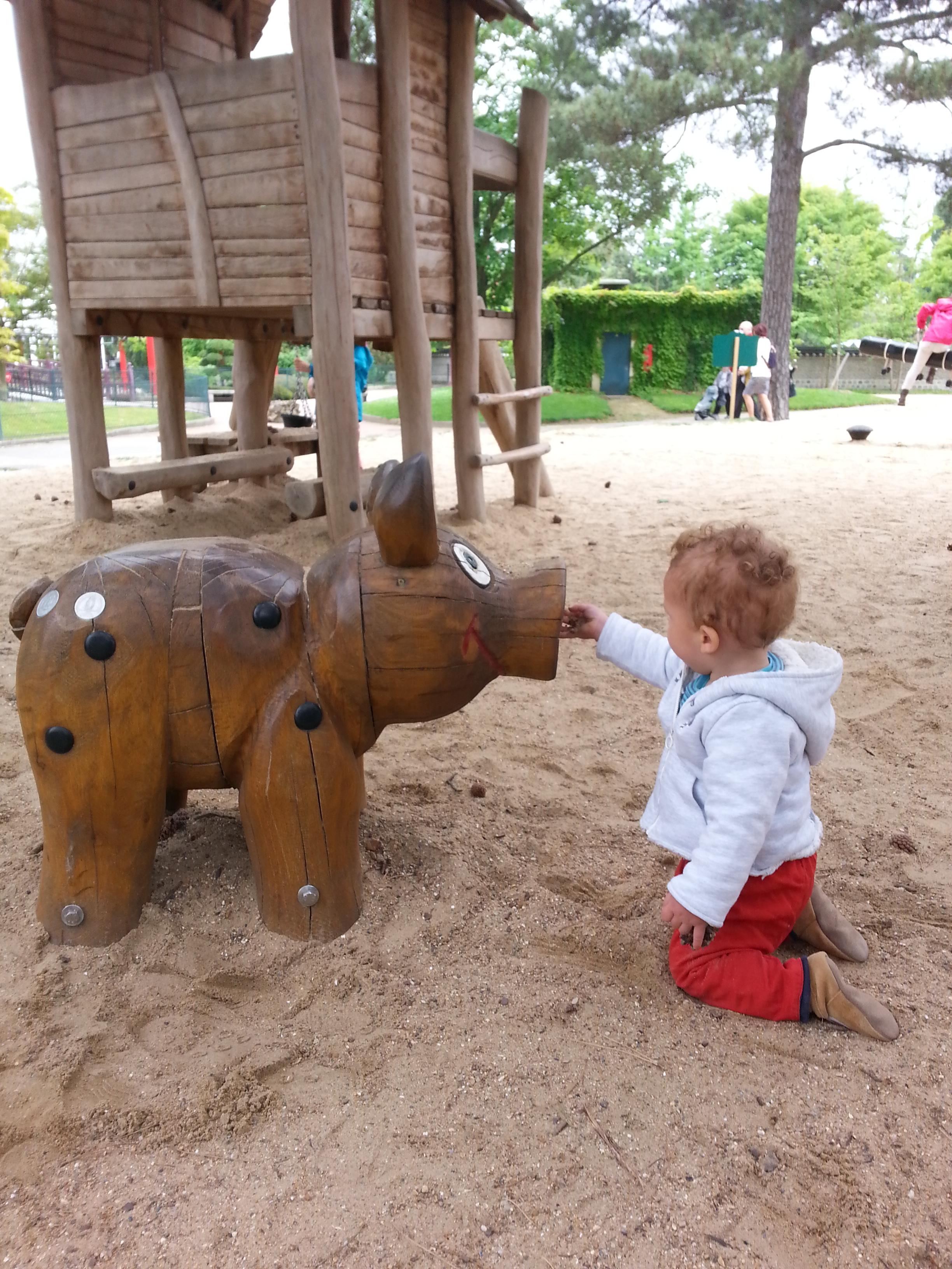 Un week end au vert avec le bambin  Paris – 1